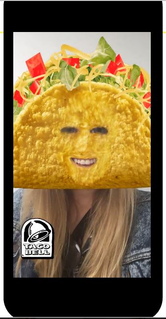Taco Bell Geofilter